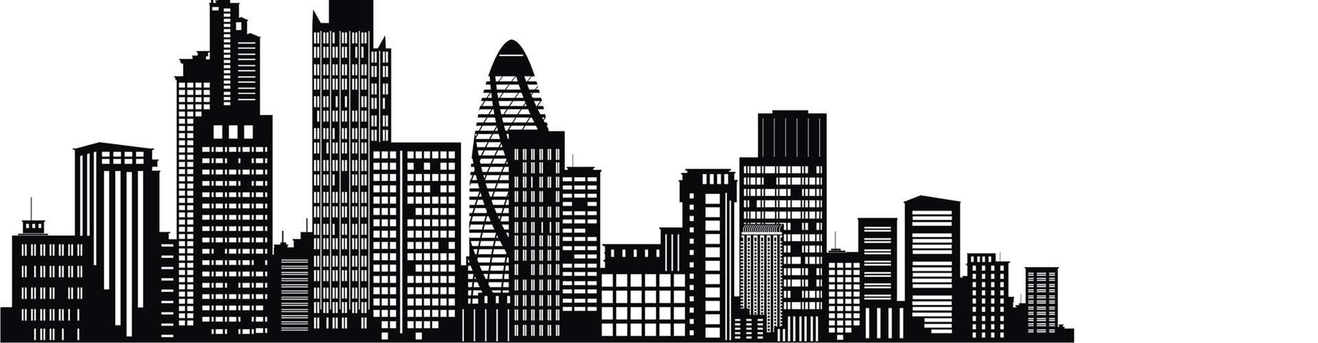 Enlarged London Skyline